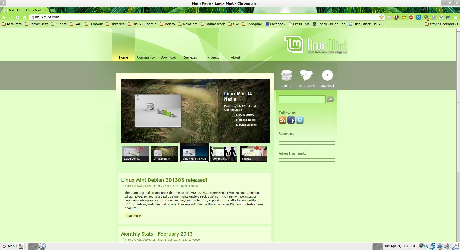 linux download website